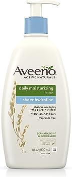 Aveeno Sheer Hydration Daily Moisturizing Lotion for Dry Skin