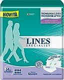 Lines Specialist Pannolone a Mutandina Grande, 14 Pezzi