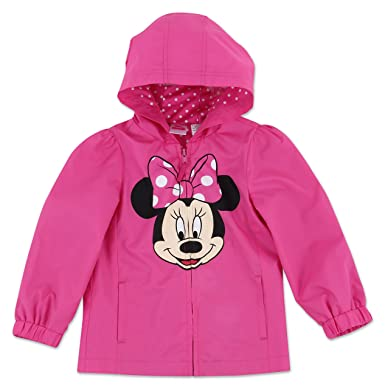 e90dc7904 Amazon.com  Dreamwave Toddler Girl Disney Minnie Mouse Hooded Water ...