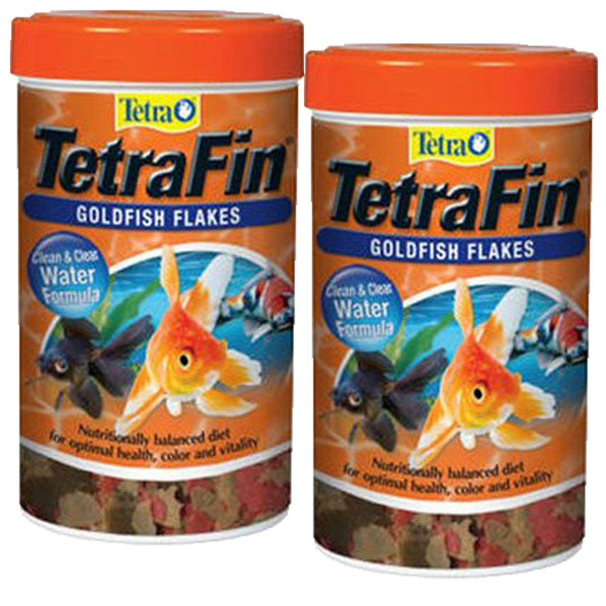 Tetra TetraFin Goldfish Flakes Food with ProCare, 4.4 oz