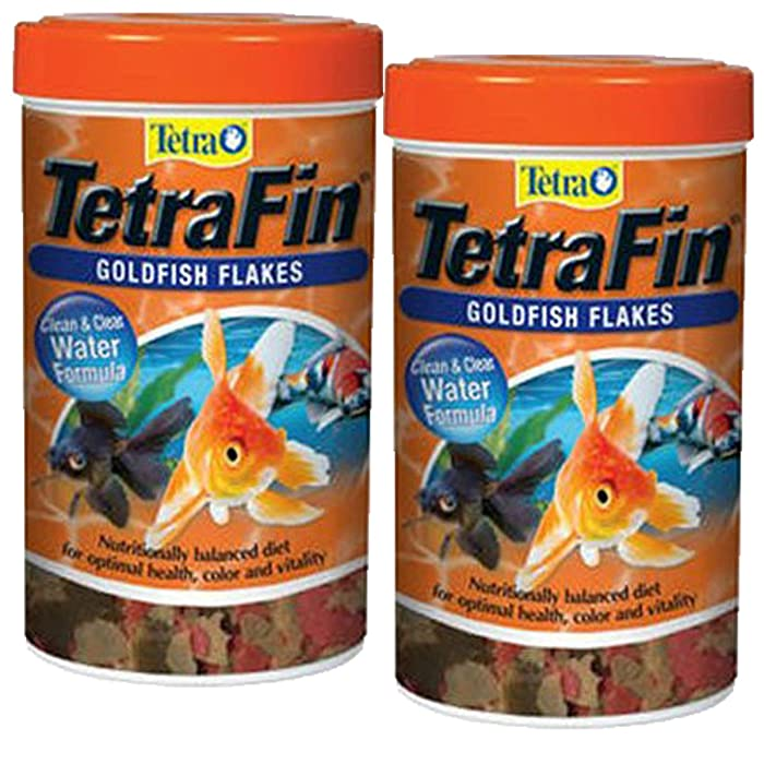 The Best Tetra Tetrafin Goldfish Flakes Food With Procare