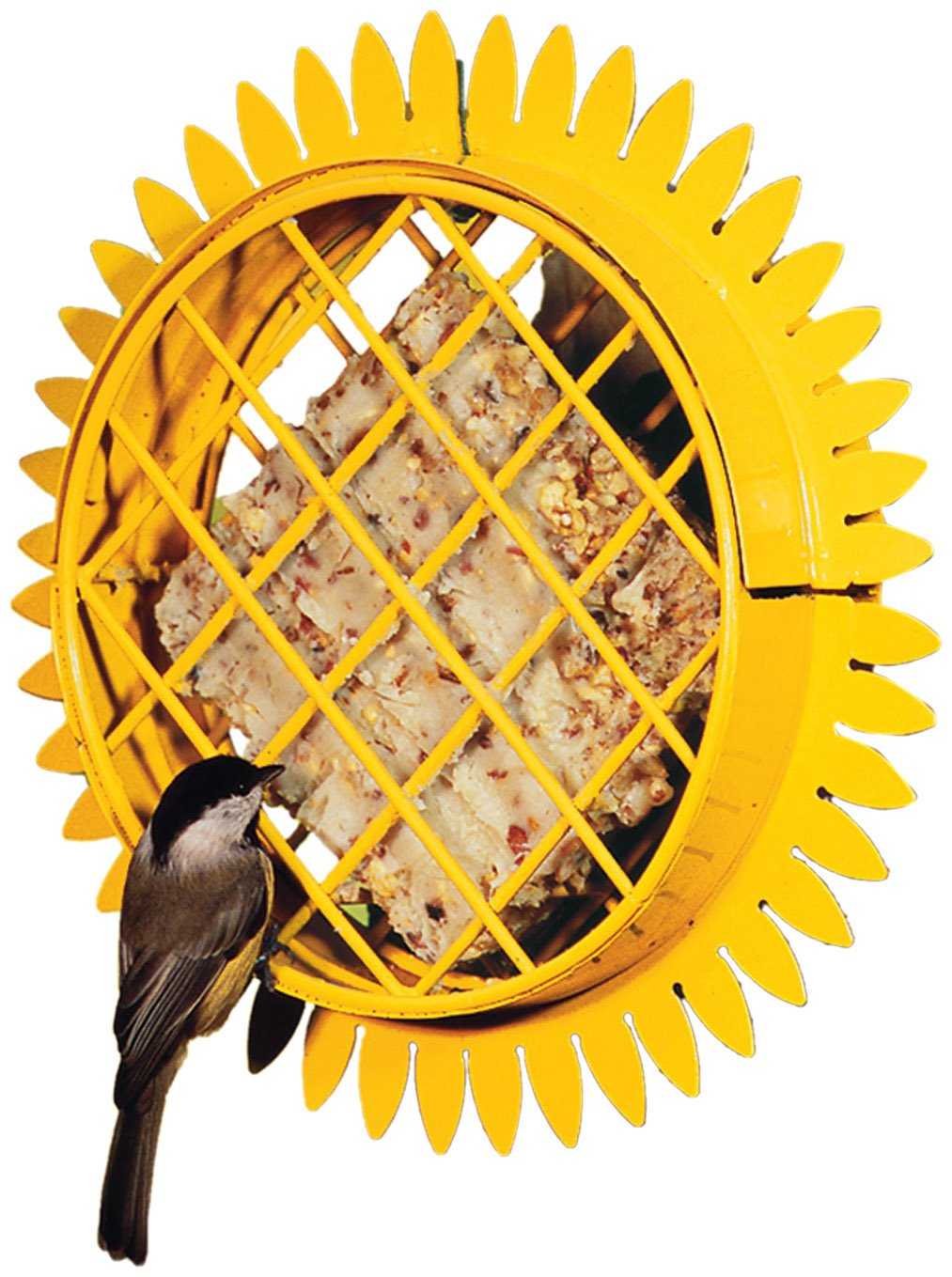 Sunflower Garden Decor Hanging Suet Bird Feeder