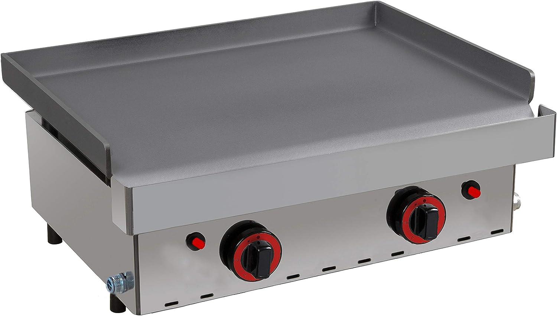 Plancha a gas industrial cocina 60 - Maquinaria Bar Hostelería