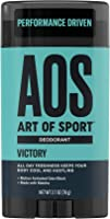 Art of Sport Men's Deodorant Clear Stick, Victory Scent, Aluminum Free, High Performance Sport Deodorant, Made with...