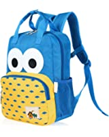 Vbiger Kids School Backpack Cartoon Wear-proof Bookbags for Kindergarten Girls Boys