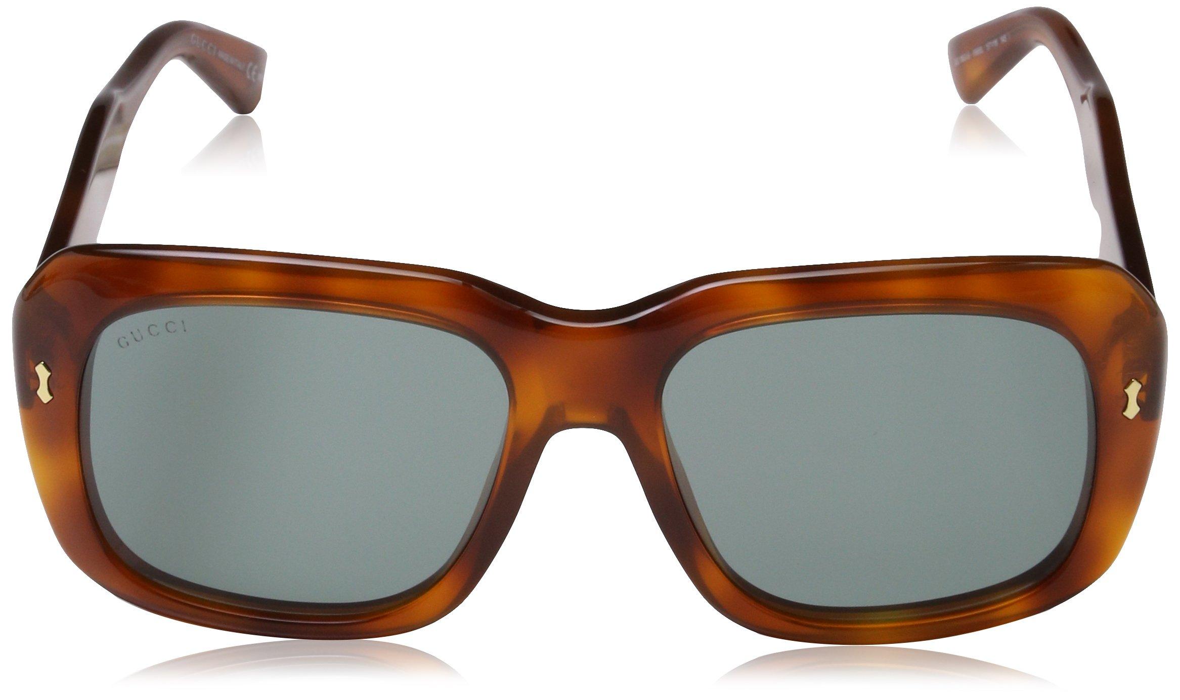 Gucci Men's GG 2247/S Semi Matte Black/Gradient Shaded Polarized by Gucci (Image #2)
