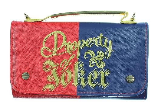 12bda33cb0 Amazon.com  Suicide Squad Harley Quinn Handbag Wallet Hybrid Bag ...