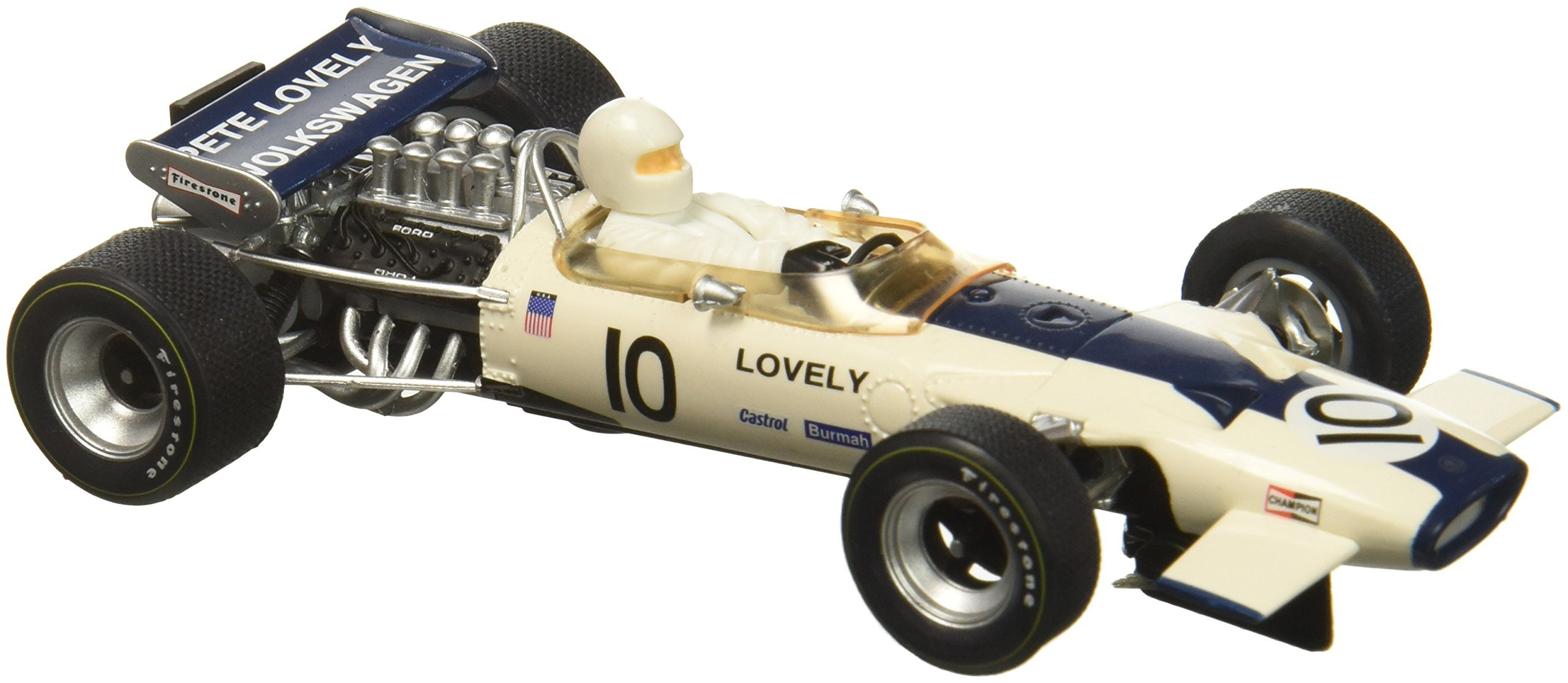 Scalextric Team Lotus 49 Pete Lovely #10 1:32 Slot Car C3707 Vehicle Replicas by Scalextric