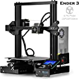 "SainSmart x Creality Ender-3 3D Printer, Resume Printing V-Slot Prusa i3, for Home & School Use, Build Volume 8.7"" x 8.7"" x 9.8"""