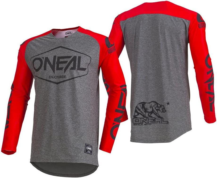 ONEAL Mayhem Hexx MX Jersey Trikot lang grau 2020 Oneal