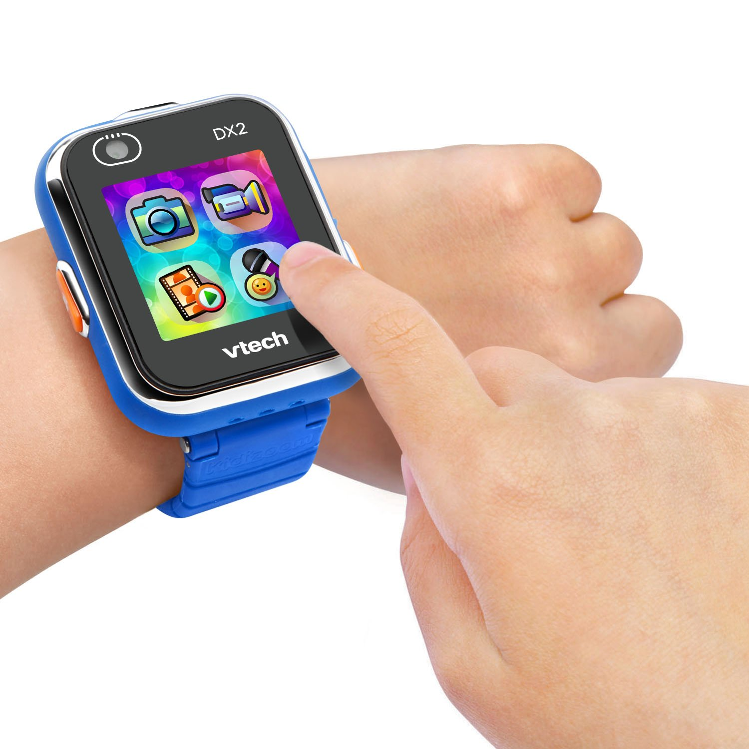 vtech kidizoom on child's wrist