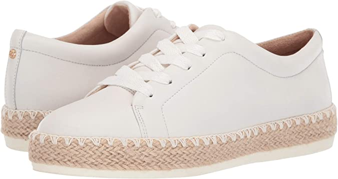 Dr. Scholl's Women's Sunnie Lace White Leather 8 M US
