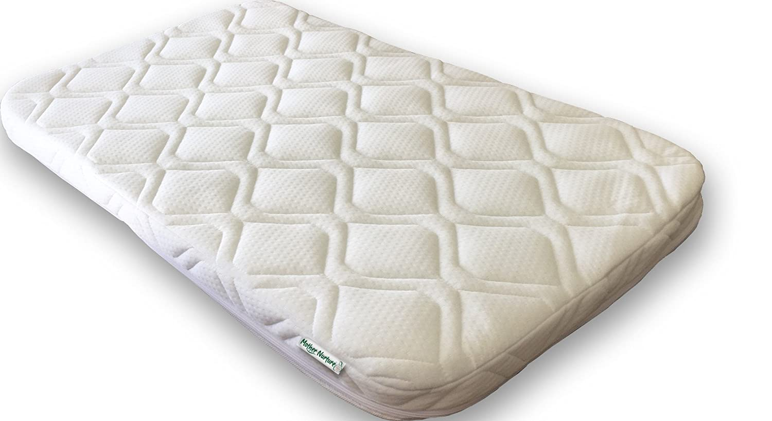 Mother Nurture Thermo Bedside Crib Mattress 84x50x5cm (Fits Chicco Next 2 Me) MN040
