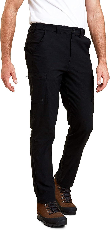 Mountain Warehouse Homme Léger /& Durable Trek stretch Convertible Pantalon