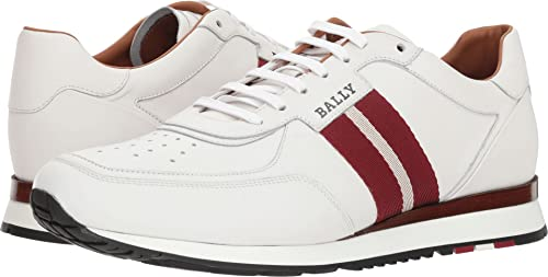 Zoológico de noche Transparente jalea  Bally Mens Aston-New-407 White Size: 11 M UK: Amazon.co.uk: Shoes & Bags