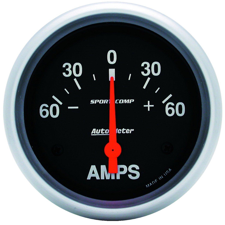Auto Meter 3586 Sport-Compact Short Sweep Electrical Ammeter Gauge