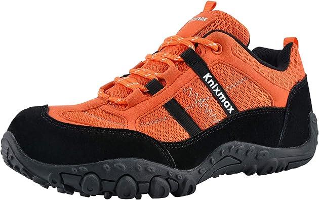 Neu Herren Leicht Wandern Breit Memory Foam Komfort Schuhe Größe Freizeit