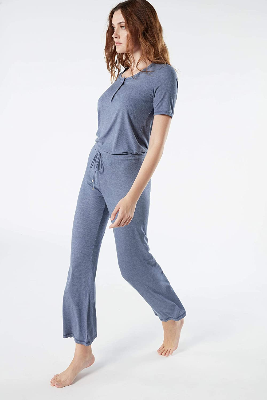 Intimissimi - Pantalones de Mujer Acanalados de Mezcla Modal ...