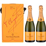 Champagne Veuve Clicquot Brut confezione con 2 bt. x 0,75 lt.
