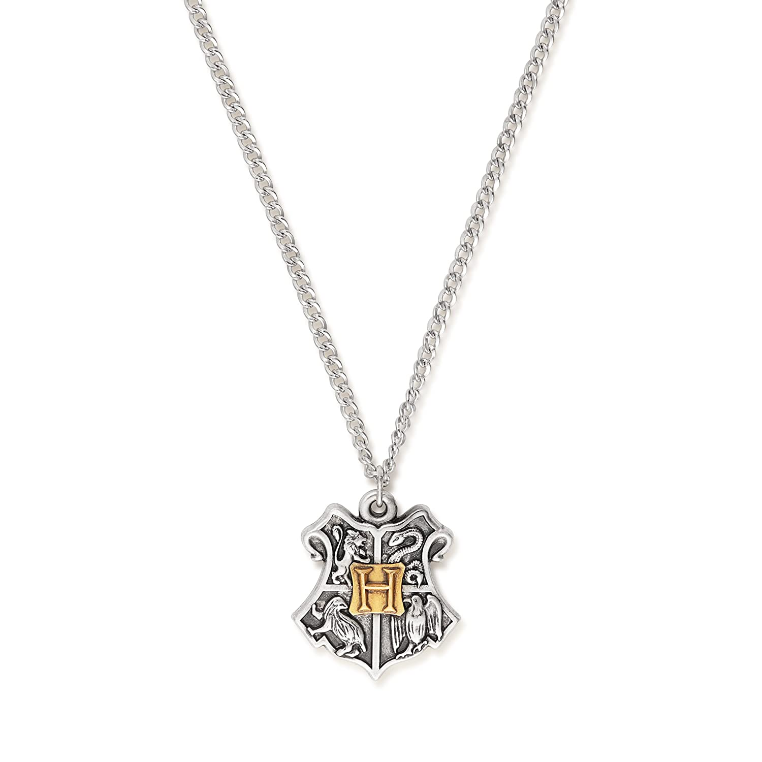 Alex and Ani Womens Harry Potter Hogwarts Two-Tone Necklace
