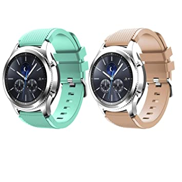 Tabcover Smart Watch Correa,2 Colors 22mm Soft Silicone ...