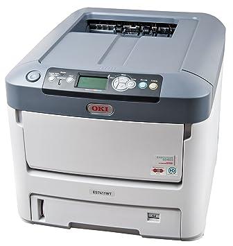 OKI ES7411WT - Impresora láser (1800 x 600 dpi, Postscript 3 ...