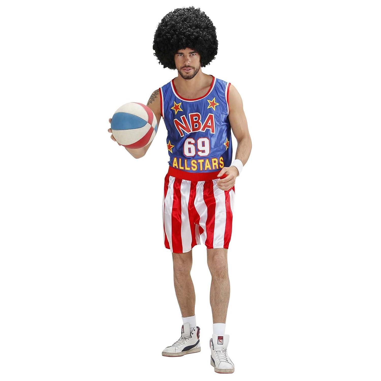 WIDMANN 75823 - Traje Jugador de baloncesto de tamaño L: Amazon.es: Juguetes y juegos