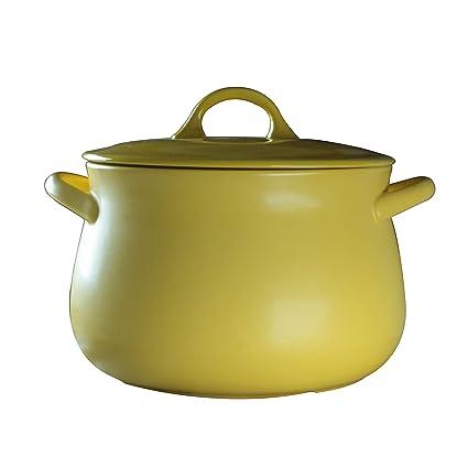 Cazuela de ceramica de alta temperatura puchero olla de sopa fuego olla de piedra gran puchero