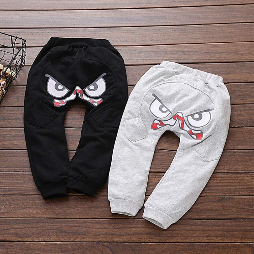 Sunenjoy Pantalon Dessin anim/é Oiseau Langue Harem Pantalon Sarouel Pants Trousers pour Enfant 1-5 Ans Mignon D/écontract/é Printemps /Ét/é Pantalon B/éb/é Gar/çon