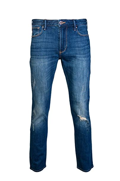 Amazon.com: emporio armani para hombre jeans Denim Blu ...