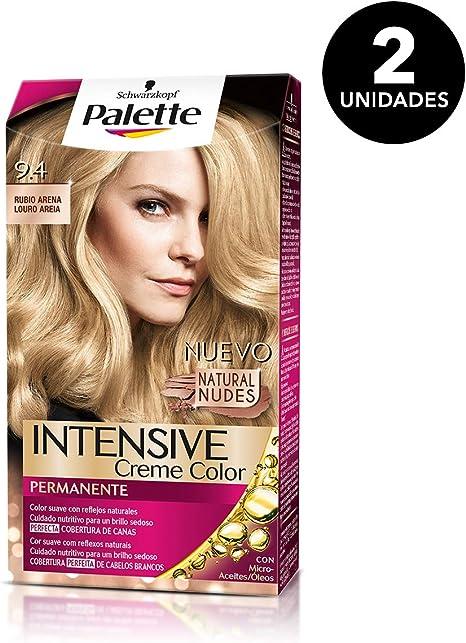 Palette Intense - Tono 9.4 Rubio Arena- 2 uds - Coloración ...