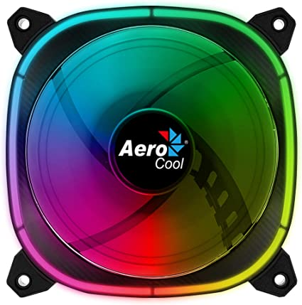 Aerocool ASTRO, ventilador PC 12 cm, 18 LED RGB, 6 pines: Amazon ...