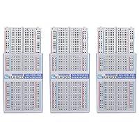 Elegoo 3x 400 Pin Breadboard 4 Stromschienen für Arduino Jumper Kabel