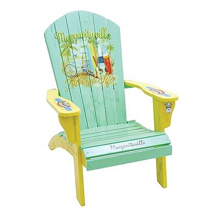Superbe Margaritaville Outdoor Classic Wood Adirondack Chair