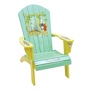 Margaritaville Outdoor Classic Wood Adirondack Chair