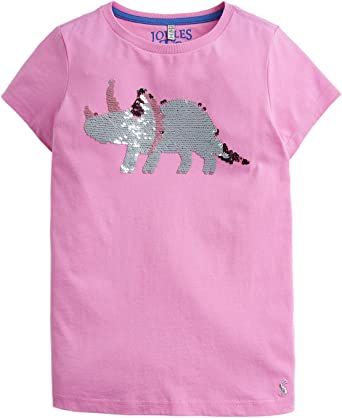 dinosaurier t-shirt damen mit pailletten