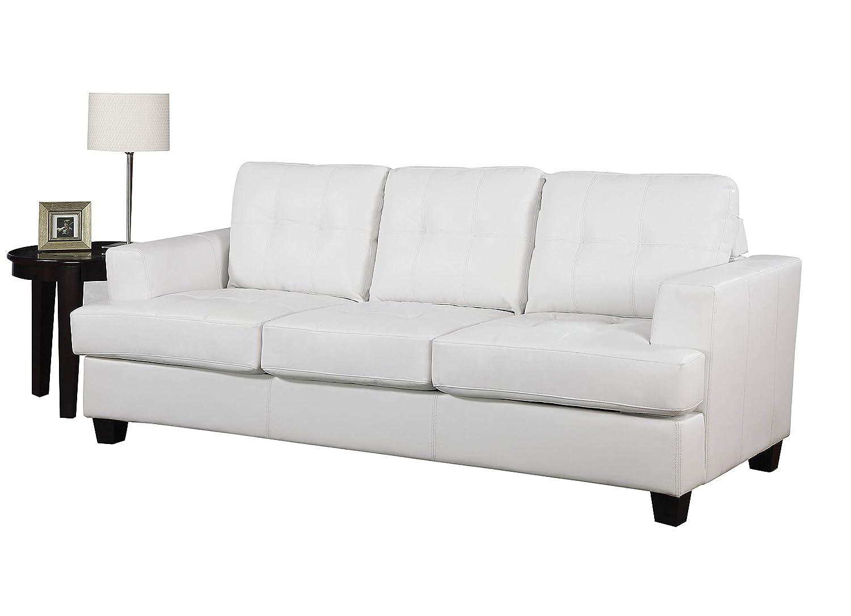 Amazon.com: Acme 15062b Platinum sofá con Sleeper con color ...