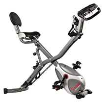 Save on Sunny Health & Fitness upright exercise bike