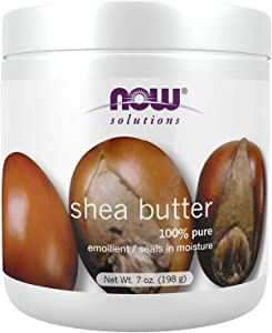 NOW Solutions, Shea Butter, Skin Emollient, Seals in Moisture for Dry Rough Skin, 7-Ounce