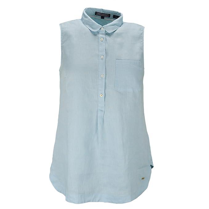 Tommy Hilfiger - Camisas - Blusa - para mujer azul azul