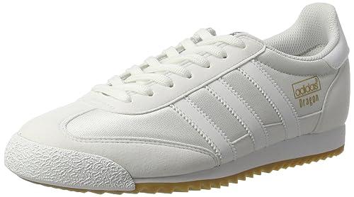 best cheap 12c65 d2a7f adidas Dragon OG, Zapatillas para Hombre, Blanco FTWR White Gum, 41 1 3 EU   Amazon.es  Zapatos y complementos