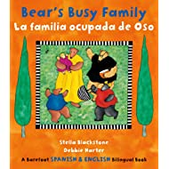 Bears Busy Family/ La familia ocupada de Oso (English and Spanish Edition)
