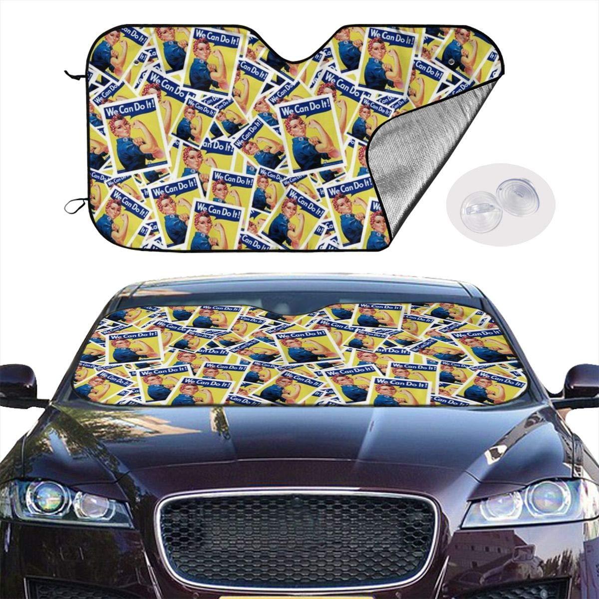 YJMHstore Mountain Universal Car Sunshades Heat Shield Windshield 2 Sizes
