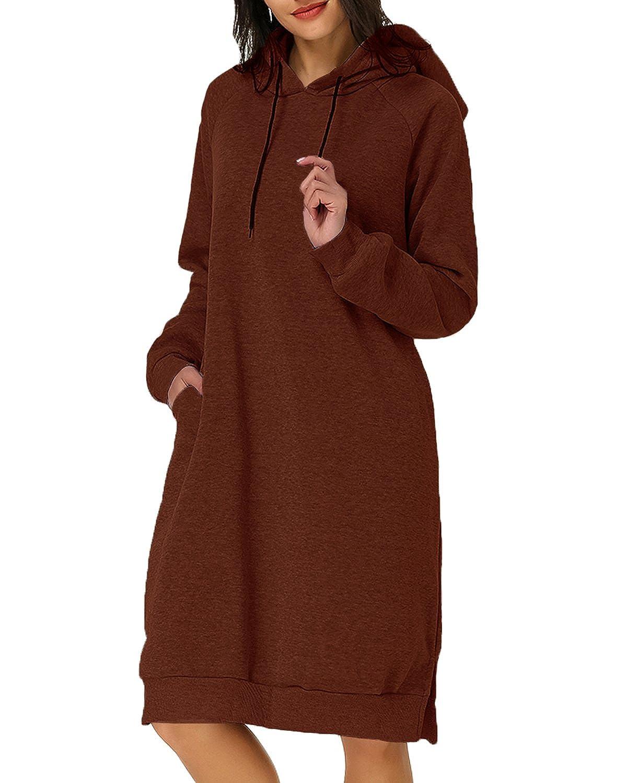 Kidsform Larga con capucha para niños para Mujeres