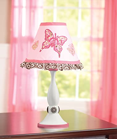 Amazon Com Summer Infant Juliette Butterfly Lamp Girls Lamp Table Lamps Baby