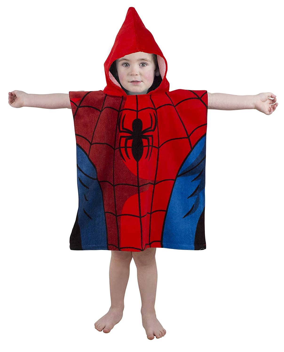 Marvel Spiderman Double Sided Hooded Poncho Disney DUSTWPTW001UK