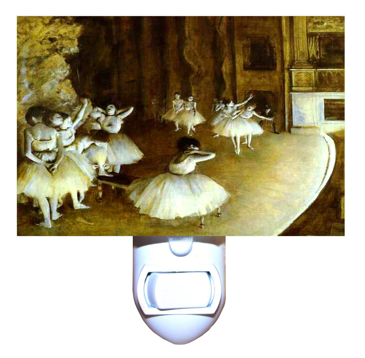 The Rehearsal by Degas Decorative Night Light