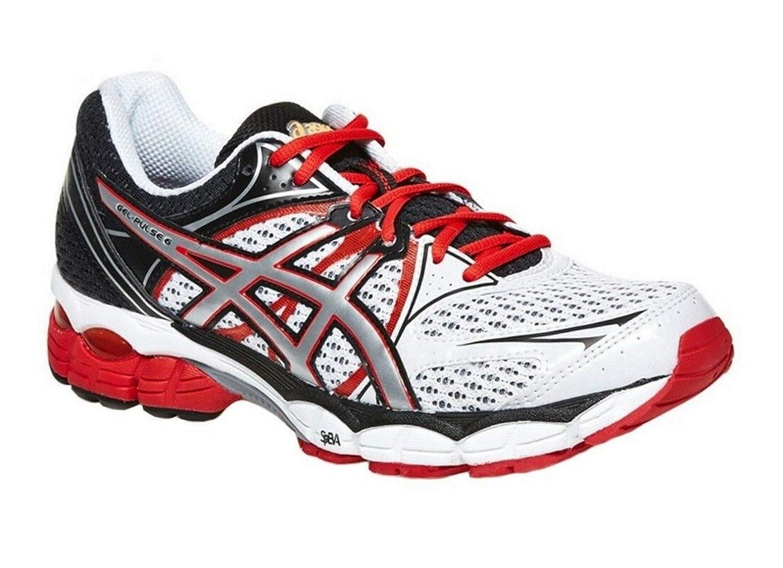 ASICS Gel Pulse 6 Men's Running Shoes WhiteSilverRed