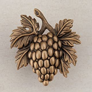 product image for Acorn Manufacturing DQ5GP Artisan Collection Grapevine Knob44; Museum Gold