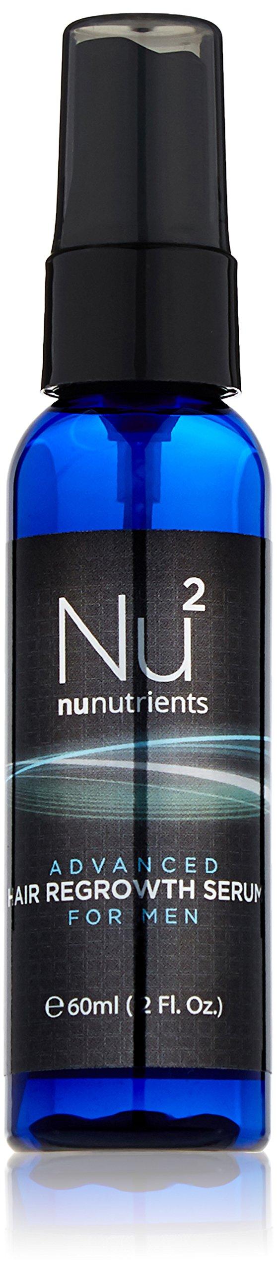 NuNutrients Advanced Hair Regrowth Treatment for Men - Easy-to-use Spray Bottle (One Bottle - 2 FL Oz)
